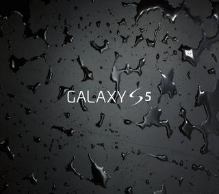 Обои на телефон galaxy, samsung, galaxy s5, абстрактные, черные, крутые, логотипы, галактика, самсунг, классные, мокрые