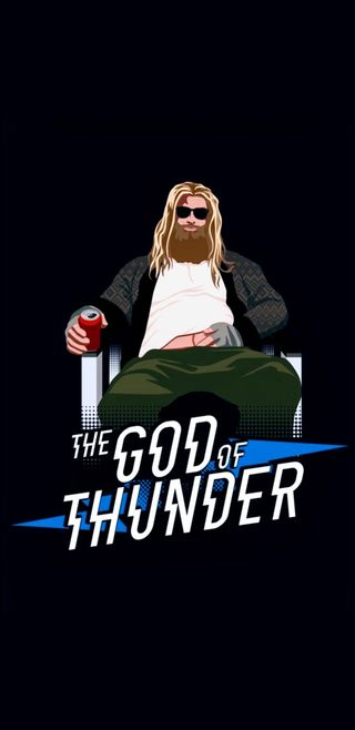 Обои на телефон гром, финал, тор, мстители, бог, the god of thunder, lebowski, god of thunder
