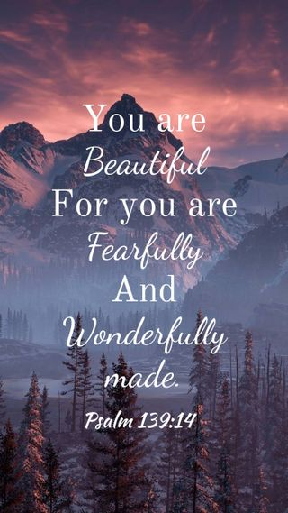 Обои на телефон библия, ты, прекрасные, you are beautiful, psalm