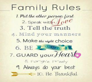 Обои на телефон семья, приятные, правила, правда, линии, family  rules