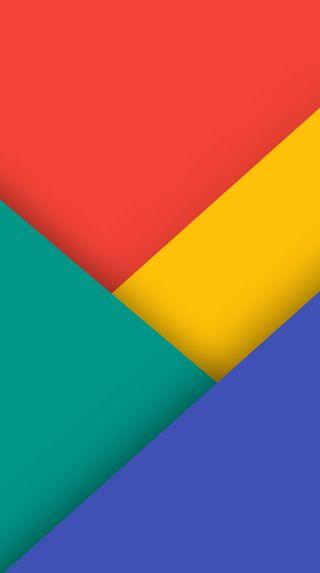 Обои на телефон треугольники, цветные, формы, плоские, материал, абстрактные, materia