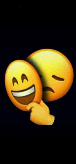 Обои на телефон эмоджи, чувства, смайлики, грустные, smile and sad
