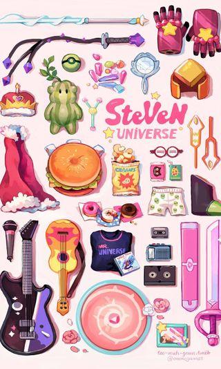 Обои на телефон сеть, вселенная, мультфильмы, steven universe, steven