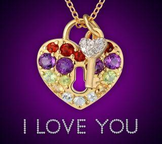 Обои на телефон ключ, ты, сердце, любовь, золотые, гламурные, бриллианты, блокировка, love, i love you