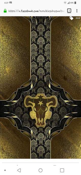 Обои на телефон быки, черные, магия, клевер, аниме, spellbook, grimoire, black bulls