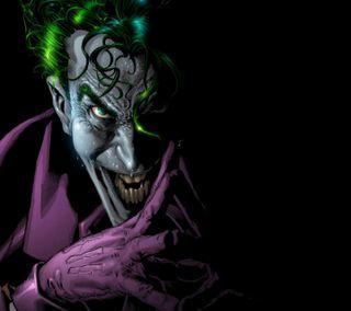 Обои на телефон фиолетовые, смайлики, джокер, враг, бэтмен, the joker hd