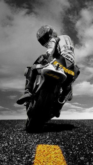 Обои на телефон stunt, vale rossi, крутые, приятные, классные, спорт, мотоциклы, росси