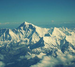 Обои на телефон лед, небо, горы