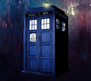 Обои на телефон тардис, доктор, синие, кто, коробка, tardis hd wallpaper