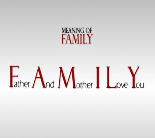 Обои на телефон daughter, love, son, family means, любовь, цитата, ты, семья, мама, отец