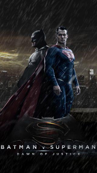 Обои на телефон против, супермен, справедливость, рассвет, бэтмен