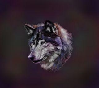 Обои на телефон рисунки, животные, волк, a wolf