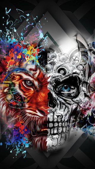 Обои на телефон маска, ведьмы, transformation