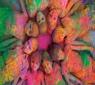 Обои на телефон холи, фестиваль, цветные, счастливые, holi festival, holi colour, holi 2013, happy holi