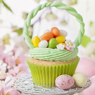 Обои на телефон яйца, празднование, цветные, украшение, праздник, пасхальные, кекс