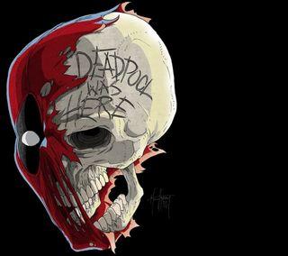 Обои на телефон череп, мертвый, fgsd, dead pool skull