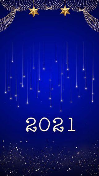 Обои на телефон синие, праздновать, праздник, новый, золотые, 2021