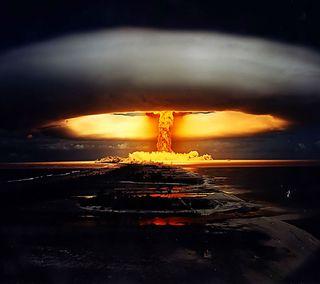 Обои на телефон ядерные, приятные, природа, пейзаж, новый, вид, взрыв, hd, 3д, 3d, 2013