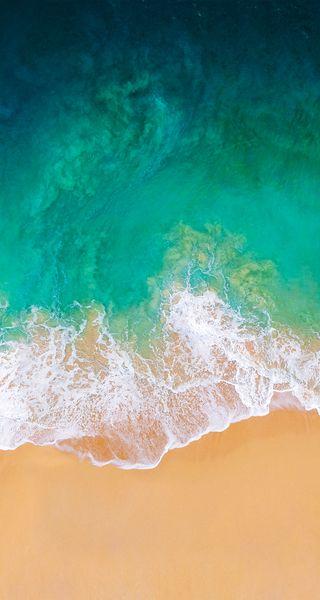 Обои на телефон тропические, эпл, черные, телефон, пляж, океан, небо, море, айфон, iso, iphone, i phone wallpaper, apple