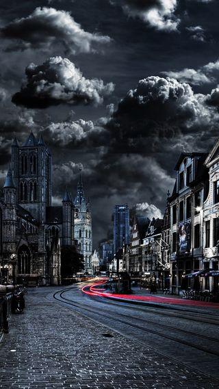 Обои на телефон лондон, шторм, черные, природа, жизнь, дорога, день, город, black day