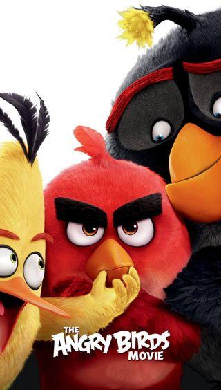 Обои на телефон злые, фильмы, птицы