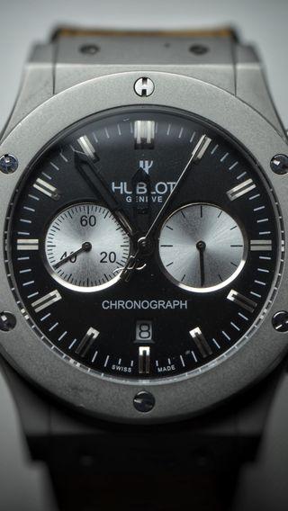 Обои на телефон богатые, часы, hublot, geneve, chronograph
