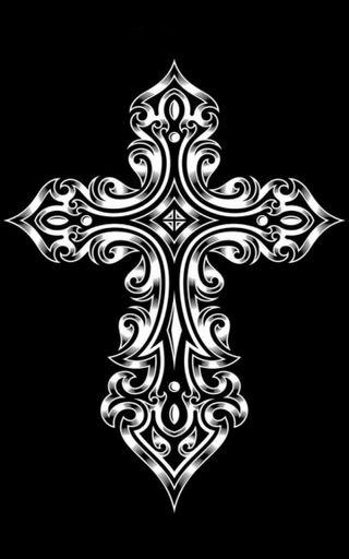 Обои на телефон крест, готические, исус, the cross