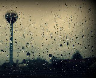 Обои на телефон погода, дождь, город