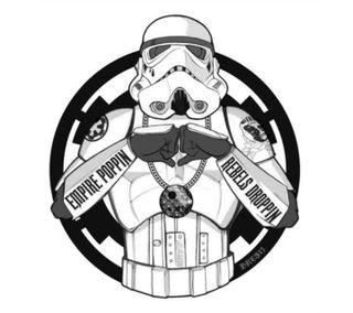 Обои на телефон disney, stormtrooper gangsta, забавные, звезда, дисней, войны, штурмовик, империя, гангста