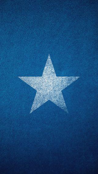 Обои на телефон hd, worn, single star, синие, крутые, белые, звезда, текстуры, простые, один, свежий