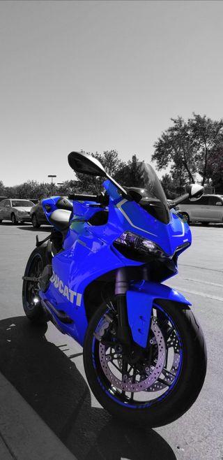 Обои на телефон дукати, синие, мотоциклы, байк, motor, ducati, anti ducati 1199, 1199