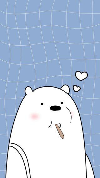 Обои на телефон мы, медведи, мультфильмы, медведь, лед, we bare bears wallpaper, wbb, ice wbb, ice bear wbb, ice bear