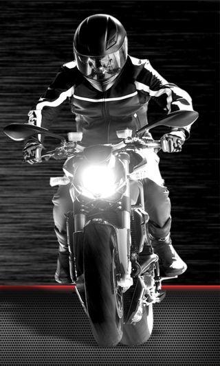 Обои на телефон всадник, черные, мотоциклы, крутые, кавасаки, двигатель, белые