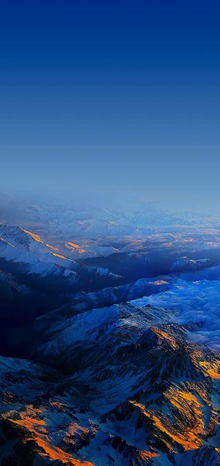 Обои на телефон hd, vivo, x21, vivo x21 - mountains, небо, пейзаж, горы, высокий