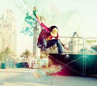 Обои на телефон скейт, мальчик, skate boy
