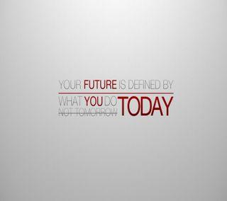 Обои на телефон сегодня, будущее, знаки, sayig, future today