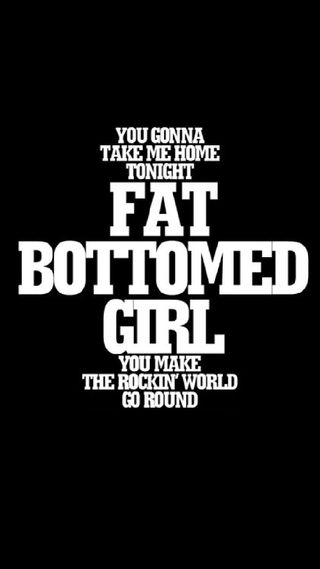 Обои на телефон песня, лирика, королева, девушки, song lyrics, fat bottomed girl, fat