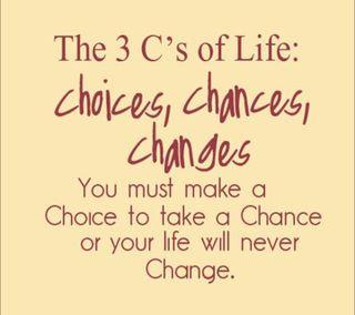 Обои на телефон шанс, менять, жизнь, choice, 3 c of life, 2013