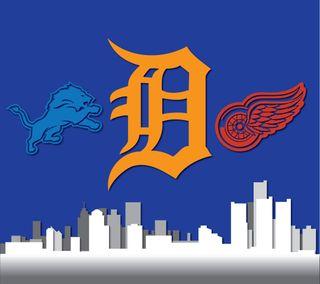 Обои на телефон тигры, спортивные, нхл, лев, крылья, красые, redwings, red wings, nhl, nfl, mlb, detroit sports, detroit