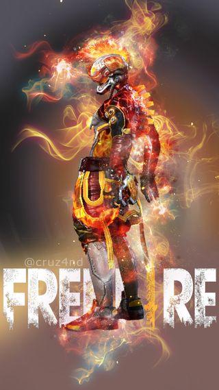 Обои на телефон свобода, огонь, неоновые, красые, incubadora, hd, freefire, free fire, fondo