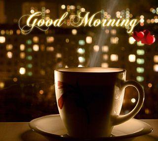 Обои на телефон чай, утро, ты, сердце, любовь, кофе, love morning