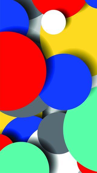 Обои на телефон современные, цветные, круги, красочные, дизайн, арт, абстрактные, art