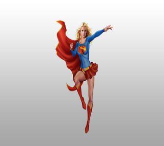 Обои на телефон супер девушка, анимационные, супергерои, супер, мультфильмы, девушки, super girl hd