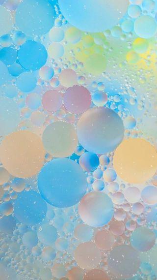 Обои на телефон пузыри, красочные, абстрактные