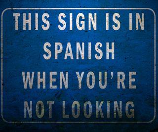 Обои на телефон странный, менять, синие, испанские, знаки, забавные, the strange sign