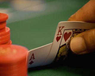 Обои на телефон туз, покер, карты, король, игра