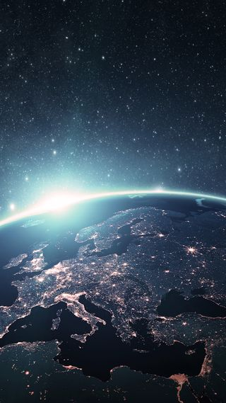 Обои на телефон планета, небо, космос, земля, галактика, galaxy