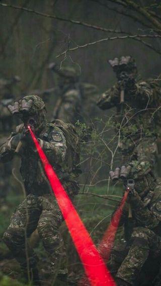 Обои на телефон стражи, пабг, оружие, лазер, красые, армия, pubg