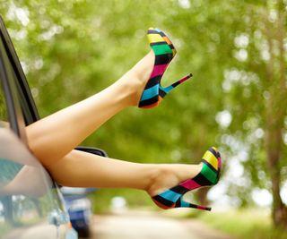 Обои на телефон обувь, м, красочные, heels