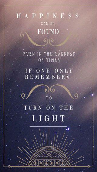 Обои на телефон поттер, цитата, свет, гарри, turn on light, harry potter quote
